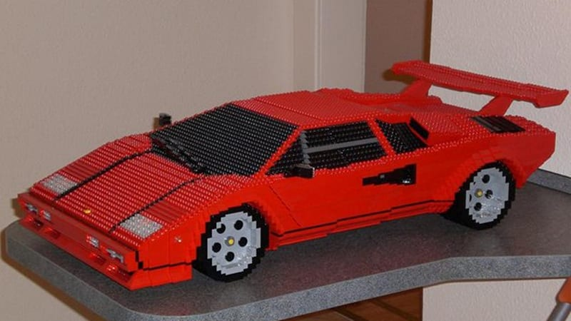 Awesome Lego Lamborghini Countach Is On A Grand Scale