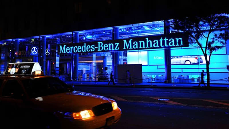 In A Lawsuit Filed In New York Federal Court, Mercedes Benz Manhattan Is  Charged With Firing Two Employees After They Complained About Racist  Comments At ...