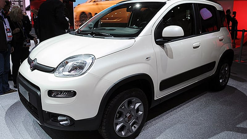 2013 Fiat Panda 4x4 Is Go Anywhere In A Small Package Autoblog