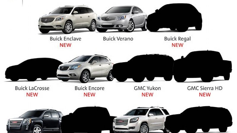 Gm Promises New Buick Regal And Lacrosse Along With New Gmc Canyon