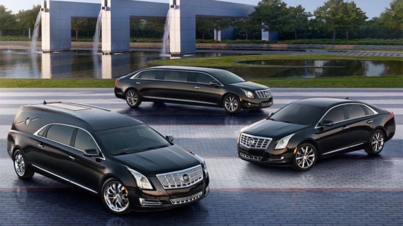 cadillac xts lineup expands to livery, limo and hearse models - autoblog