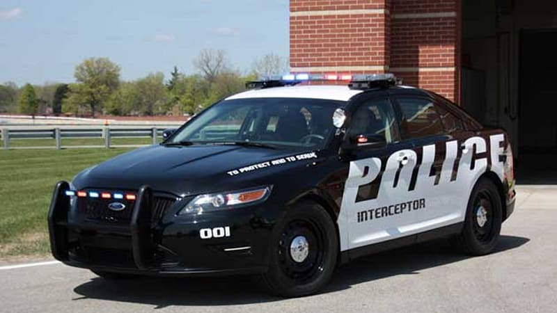 Ford's Taurus-based Police Interceptor getting more power to catch ...