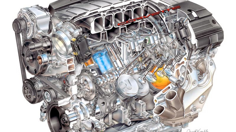 A deeper look at the small-block heart of the next Corvette