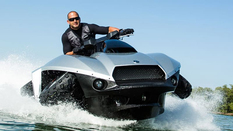 Gibbs outlines sales plans for new BMWpowered 40000 Quadski