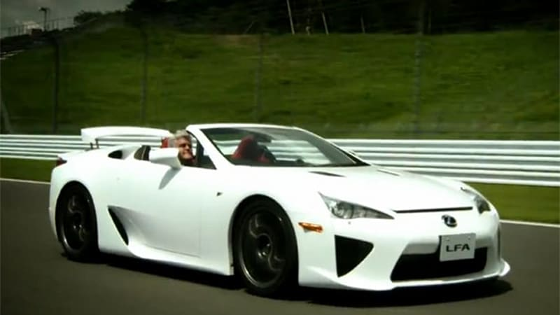 Superior There Is Only One Jay Leno And There Is Only One Fuji Speedway. It Turns  Out There Is Also Only One Lexus LFA Roadster. Put Them Together And You  Have The ...