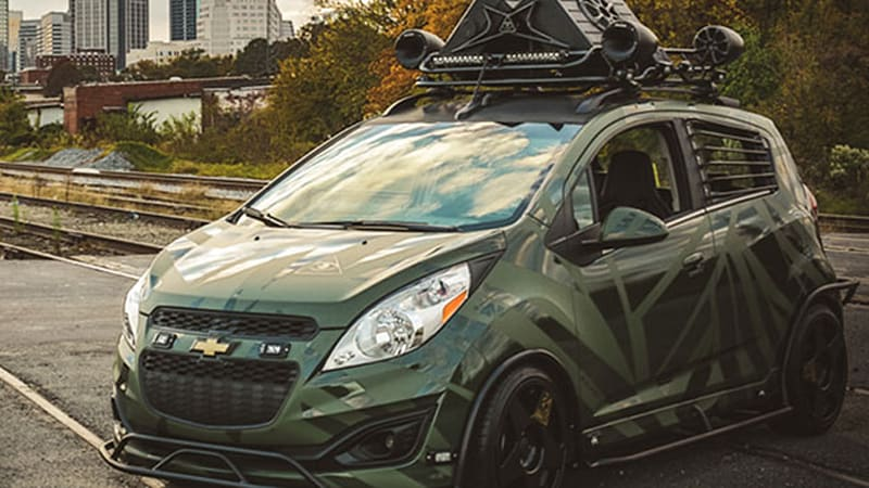 Enemy To Fashion Imagines What Chevy Spark Would Look Like As An