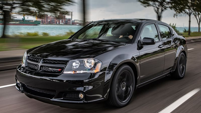 Dodge announces Blacktop packages for 2013 Avenger, Challenger ...