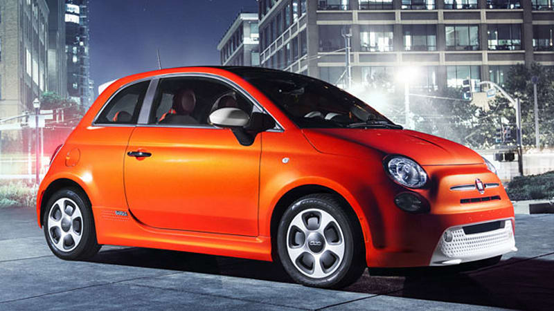 2013 fiat 500e gets 116 mpge (combined) and 87-mile range - autoblog