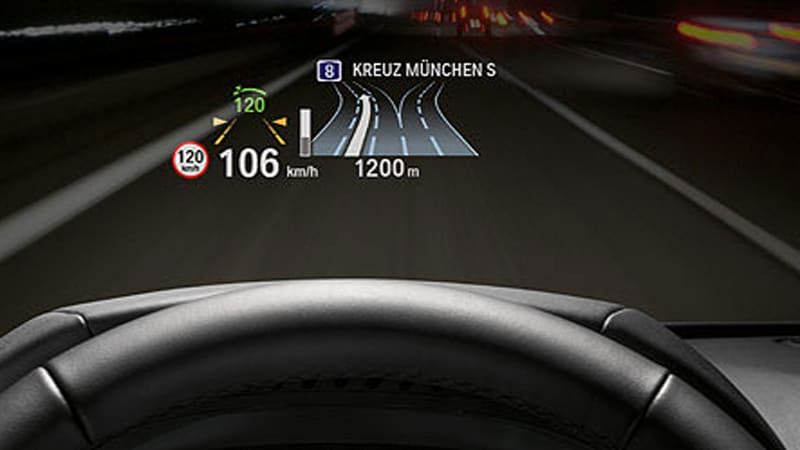 Automotive Head Up Displays To Get Second Wind As Safety Devices