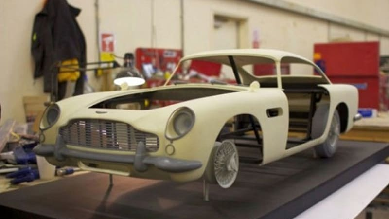 Aston Martin DB5 Stunt Doubles In Skyfall Created By 3D Printers   Autoblog