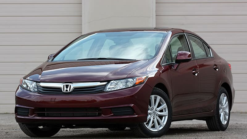 honda recalls small number of 2012 civic models for. Black Bedroom Furniture Sets. Home Design Ideas