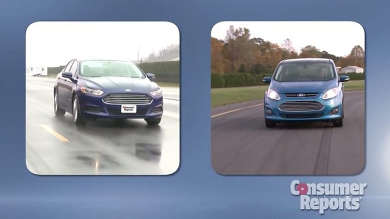 Consumer Reports Calls Out Ford For False Fusion C Max Hybrid Fuel Economy Claims