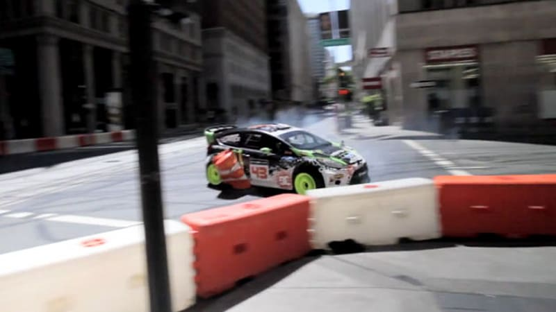 Ken Block and Co. belatedly release Gymkhana 5 making-of