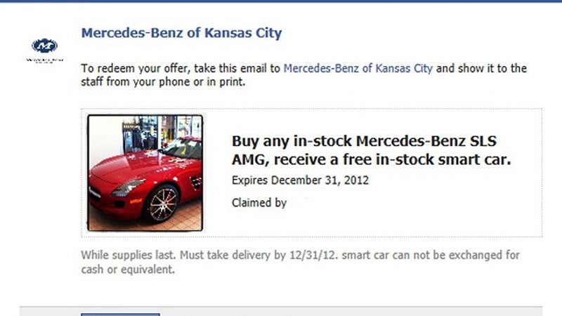 Missouri Mercedes Dealer Offering Free Smart With Every Sls Amg