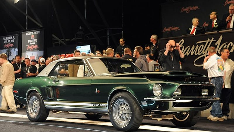 1968 Shelby EXP 500 fails to sell at Barrett-Jackson despite