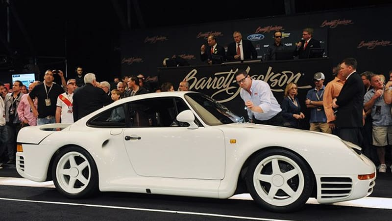 1986 Porsche 959 Prototype At Barrett Jackson Sees Gavel Fall At
