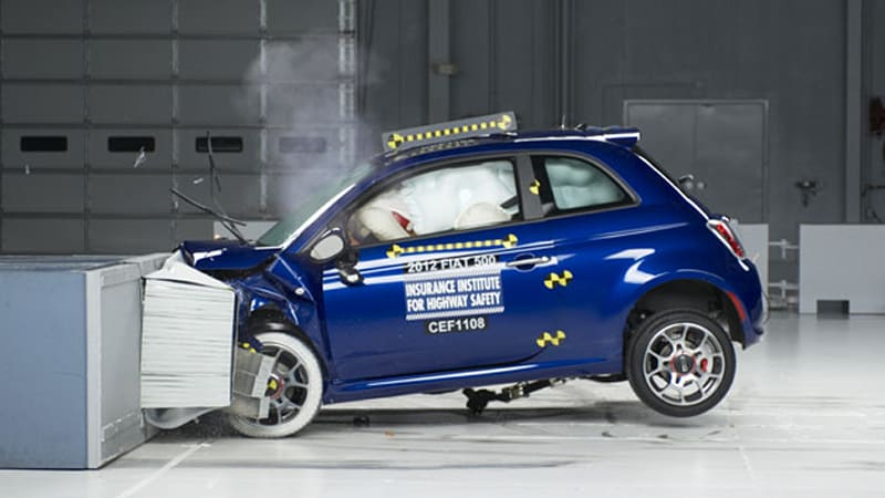 Fiat 500 least safe vehicle to drive according to insurance website
