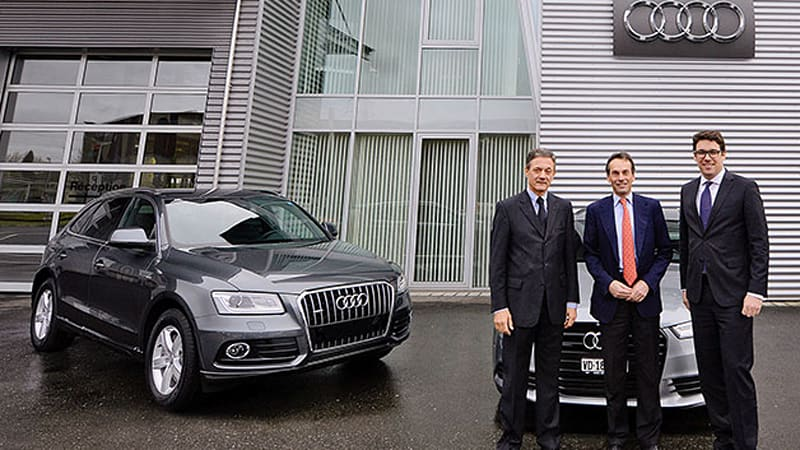 Audi Replaces Mercedes As Official Vehicle Supplier To The Ioc