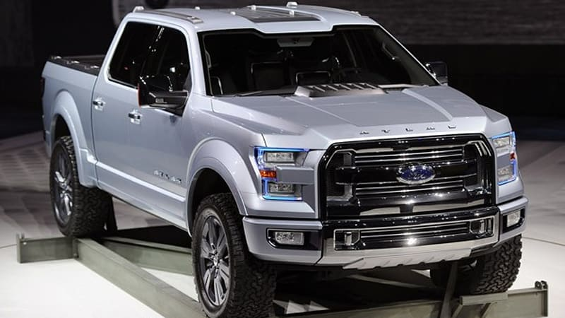 Ford Atlas Concept Carries The Weight Of F 150 On Its Shoulders W Video Autoblog