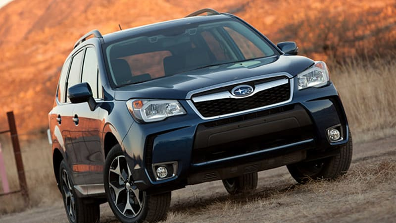 Subaru Forester first to ace difficult new IIHS crash test