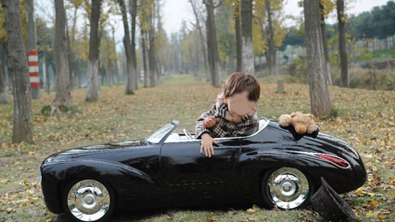 Engineer Father Builds Son Amazing Electric Toy Car Autoblog