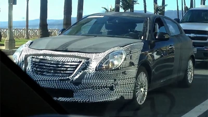 A Coming Hatchback Said To Be Called The Chrysler 100 Has Been Caught On Video Traipsing Around Santa Monica By Autoblog Reader Zach Dillman