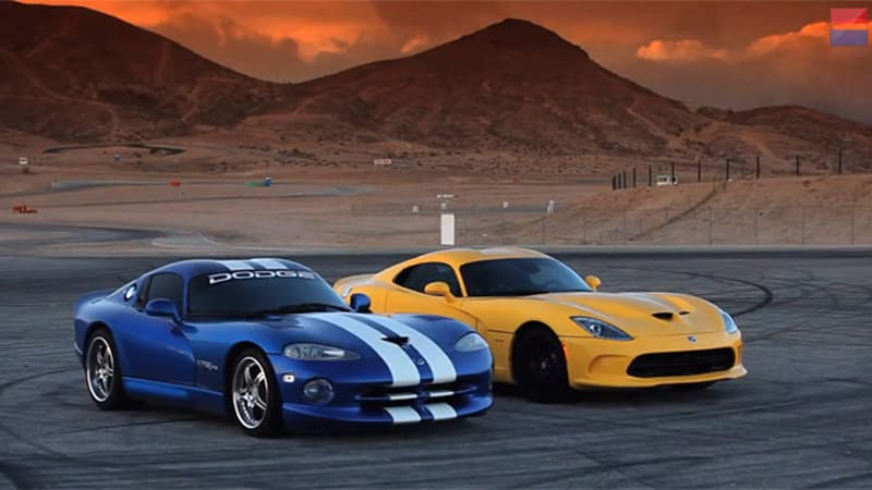Old vs. New: 2014 SRT Viper takes on upgraded 16-year-old Dodge ...