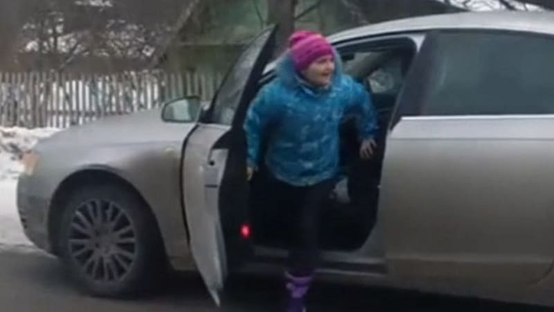 8 Year Old Girl Drives Audi 60 Mph On Icy Roads Investigation