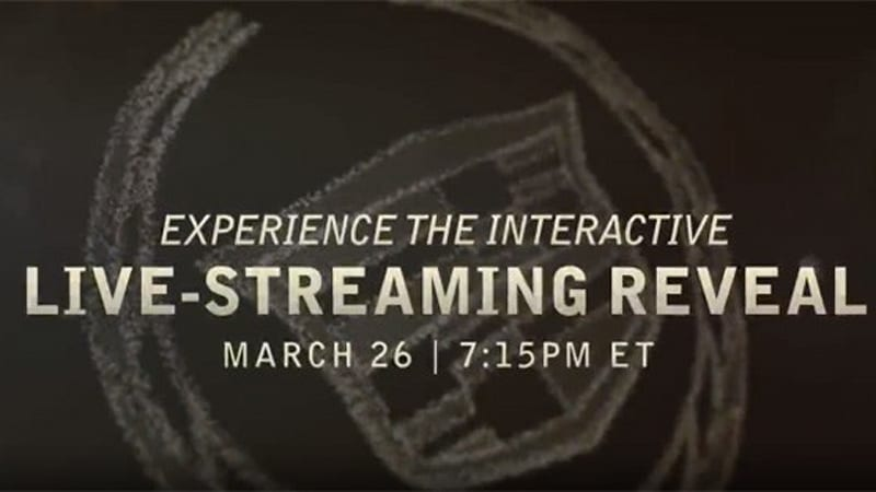 Watch the 2014 Cadillac CTS live-stream reveal