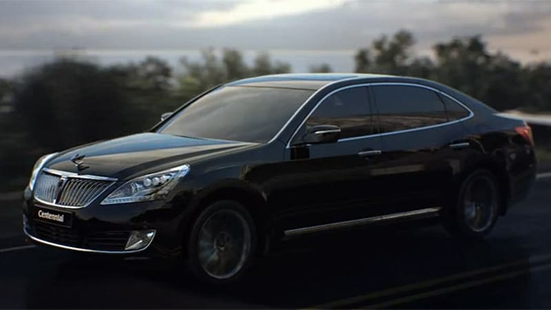 Elegant Hyundai Has Dropped A Pair Of Videos Detailing The Facelifted 2014 Equus  (a.k.a. Centennial) Ahead Of The Luxury Sedanu0027s Official Debut At The New  York Auto ...