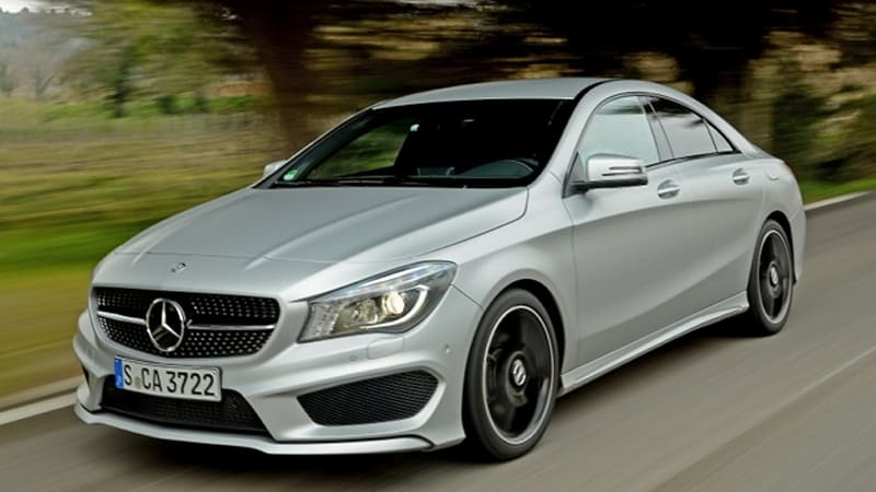 2014 mercedes benz cla 250 sport autoblog for Mercedes benz cla 250 sport for sale