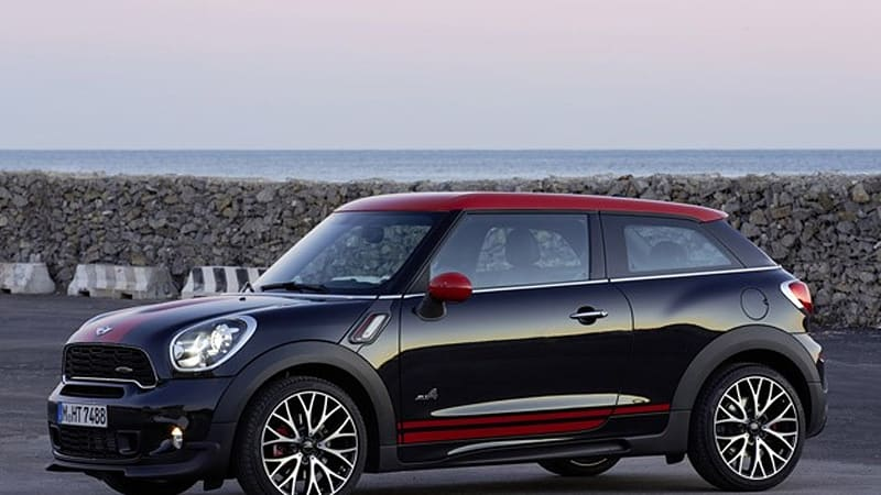 2014 Mini John Cooper Works Paceman All4 Autoblog