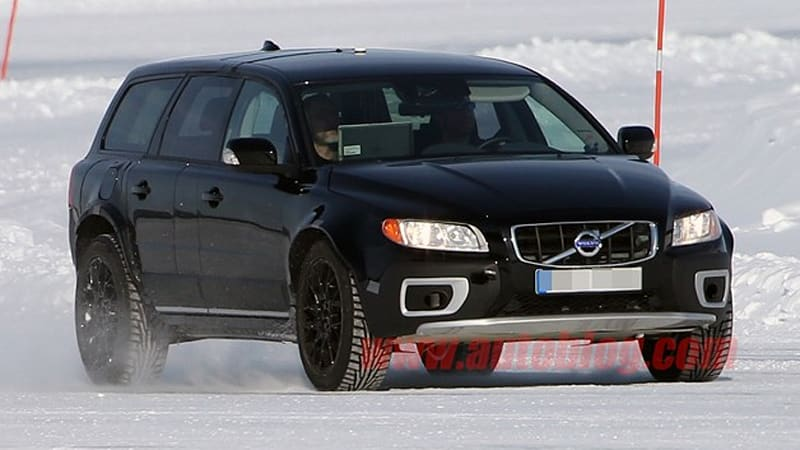 2015 Volvo Xc90 Mule Spotted Testing In The Snow Autoblog