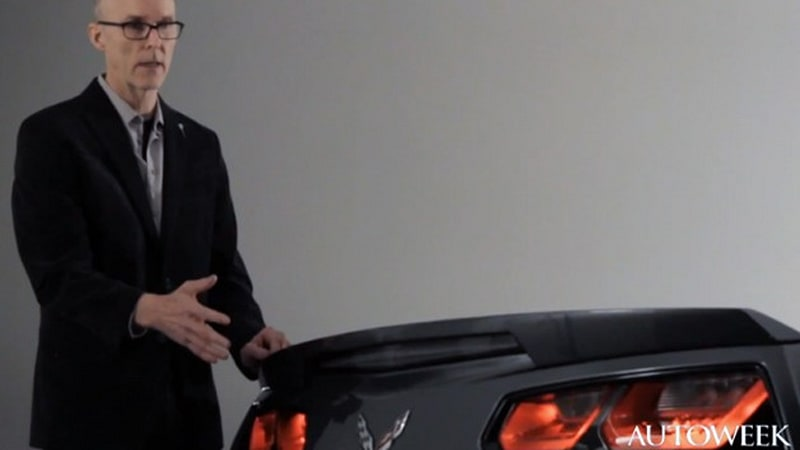 Corvette Stingray Taillamps Defended By Gm Design Director Tom Peters