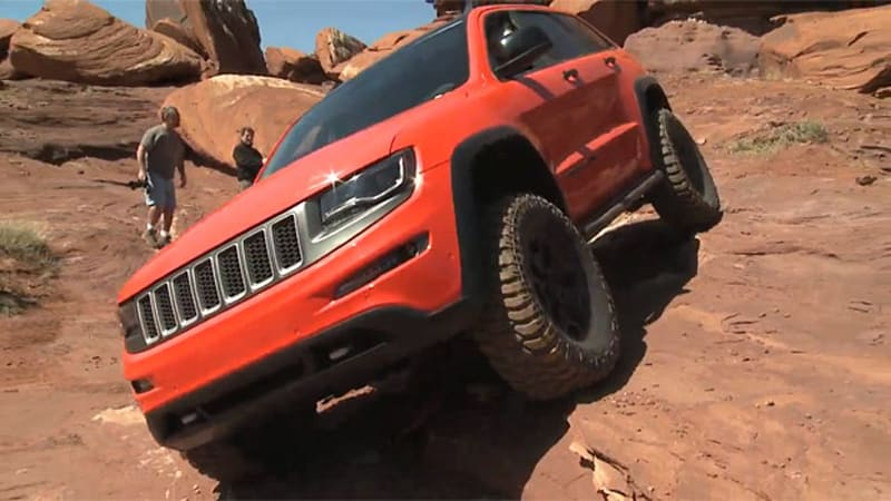 Jeep shows off Moab Easter Safari concepts crawling the red rocks
