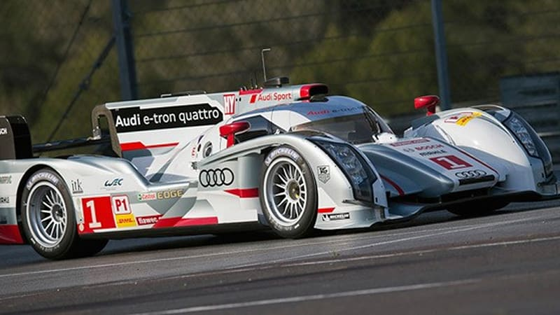Audi testing long-tail version of R18 e-tron quattro for Le Mans