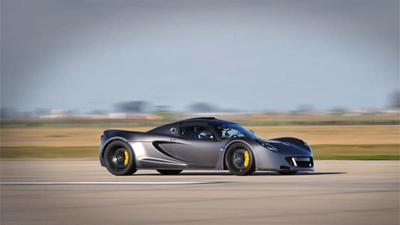 Hennessey Venom GT goes 265.7 mph, claims top-speed crown from ...