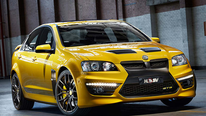 Next Gen Holden Hsv Range Coming Next Month Autoblog