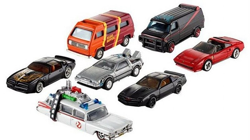 Hot Wheels Retro Entertainment series memorializes your favorite Hollywood cars