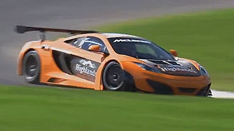 This is how you use a McLaren MP4-12C GT3 to set a lap record at New Zealand's newest track
