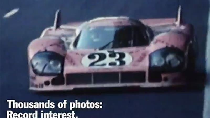 Preparing for Le Mans 2014 Porsche remembers 1971 and the 917 [w/video]