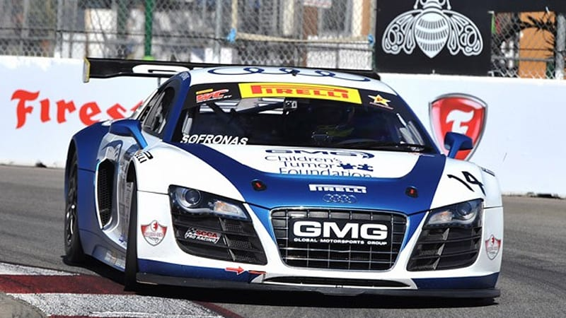 Audi R8 Lms Claims Second Victory In Scca World Challenge