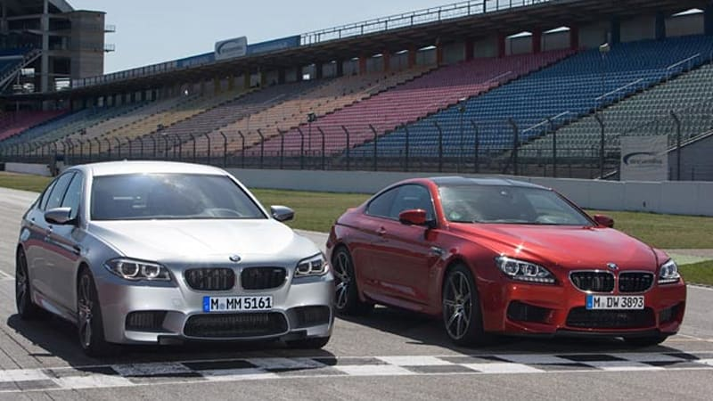 2014 BMW M5 And M6 Add Competition Package Bundles Stay Close To Home Otherwise