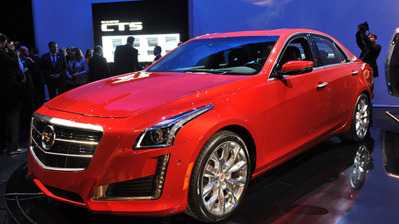 cadillac auctioning first cts v sport for charity autoblog. Black Bedroom Furniture Sets. Home Design Ideas
