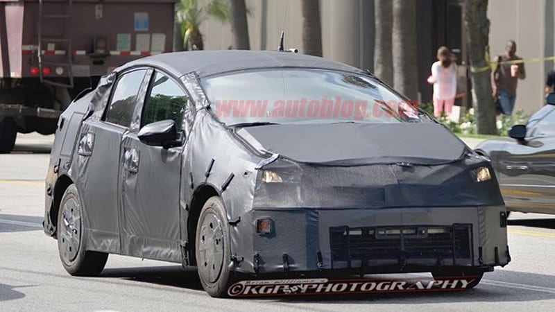 nextgen toyota prius spied inside and out  autoblog