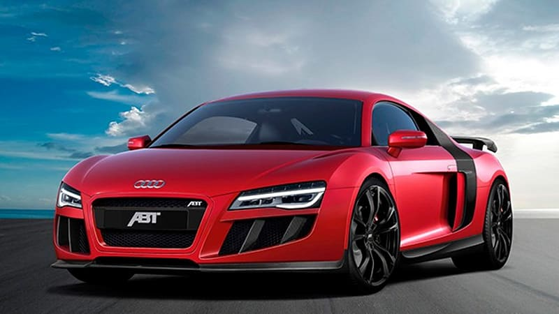 Audi R8 V10 Gets Tuned Up By Abt Autoblog