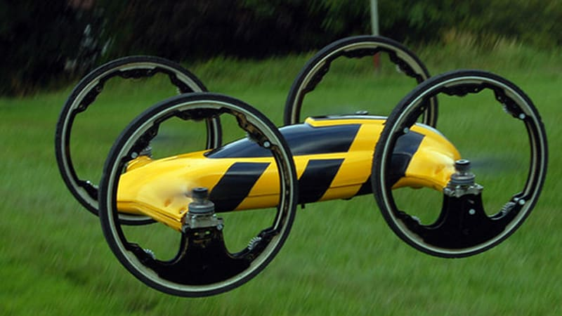 R/C car-quadcopter seeks Kickstarter funding [w/video]