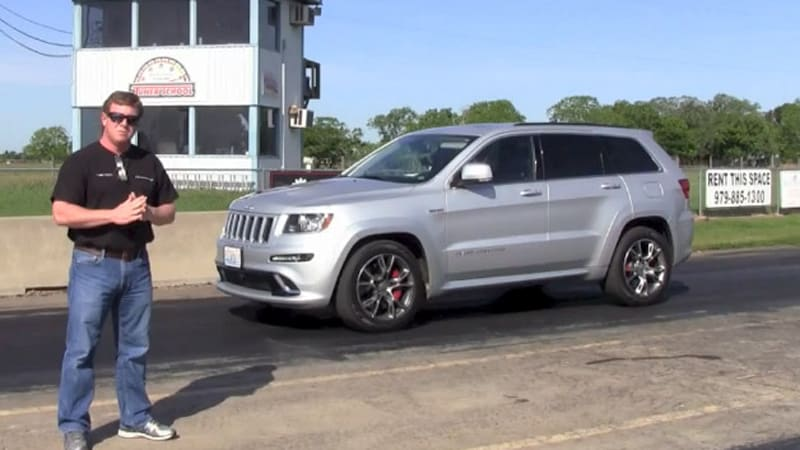 Watch this 650hp Hennessey Jeep Grand Cherokee go from 060 in