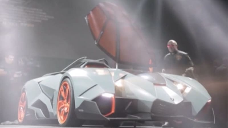 Wonderful Seeing The Wild Lamborghini Egoista Is One Thing, But Hearing The  Single Seat Concept Car Fire To Life In All Its Glory Is Something Entirely  Different.