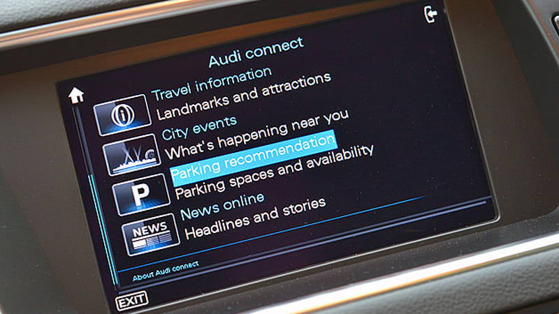 Audi adding search for parking functionality to all connected models